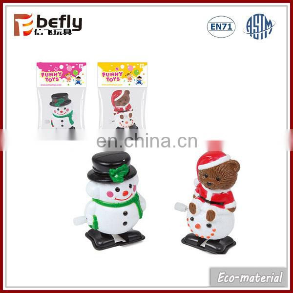 Christmas mini toy wind up snowman