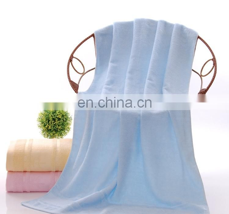 Wholesale custom super soft bamboo towel sets