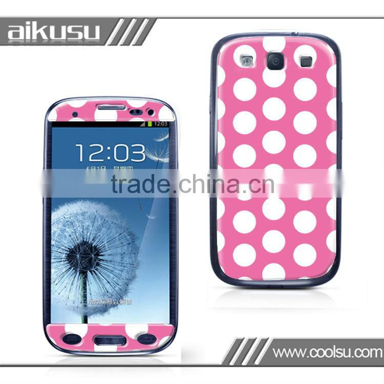 samsung S2 skin,3M vinyl sticker for samsung I9100