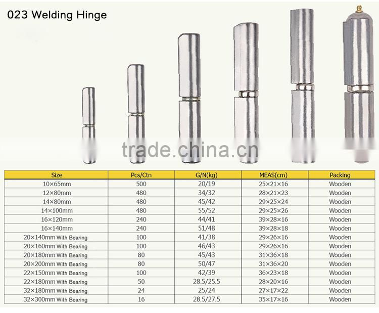China Depot Door and Window Bearing Welding Hinge