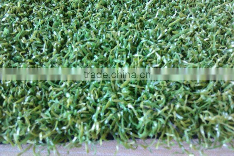 PE yarn Artificial turf for volleyball yard with 10mm height