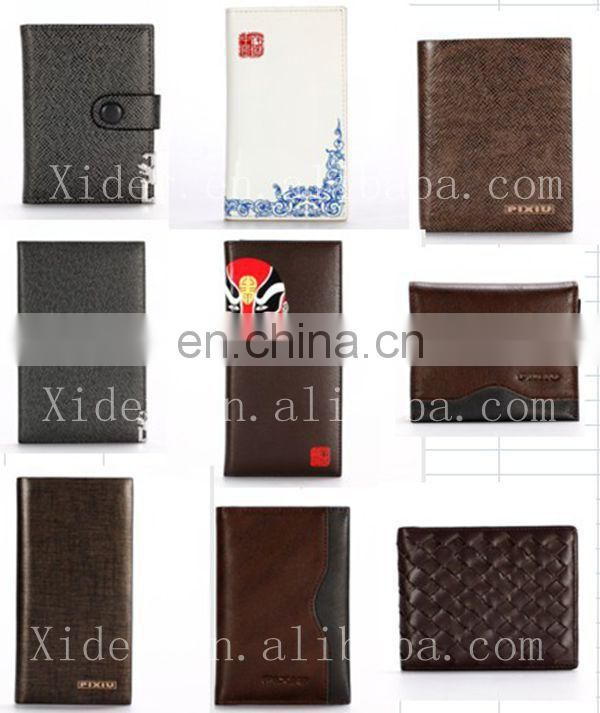 2015 PROMOTIONAL SALE LEATHER CARD NOTE WALLET CASE