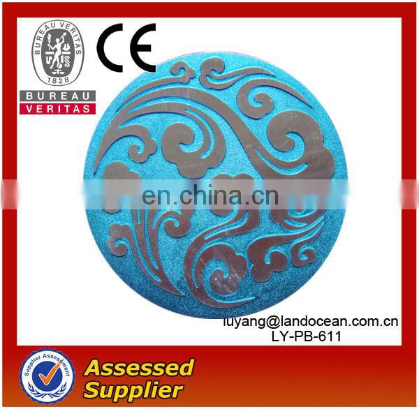Welcom OEM Metal Round Pin Badge For Clothes