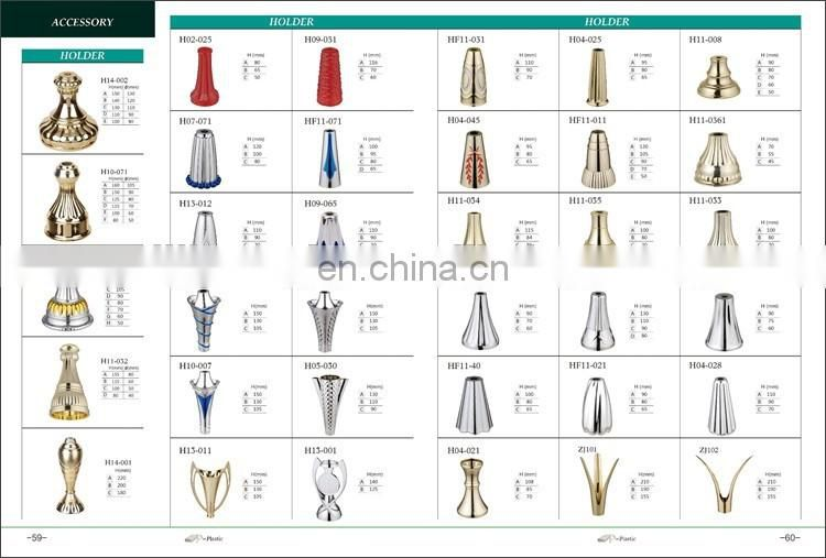 Hot sale white marble trophy base of Trophies Parts from