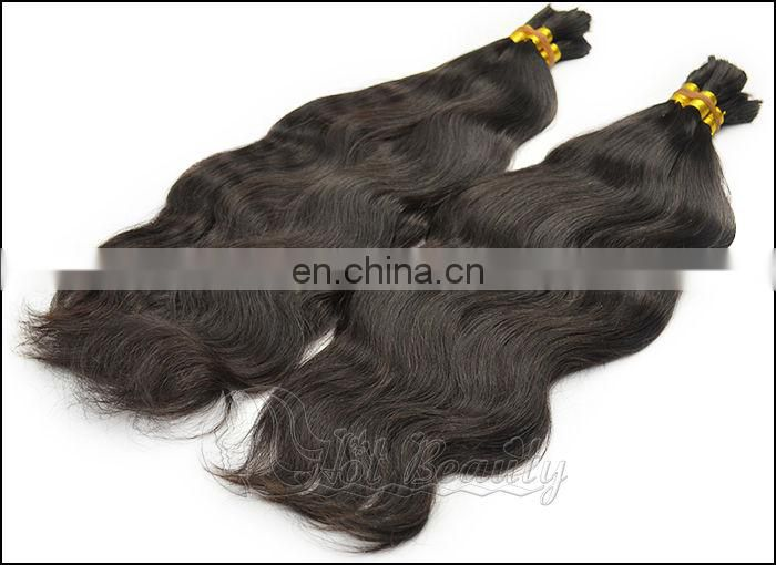 Virgin Hair Bulk For Brading Human Braiding Hair