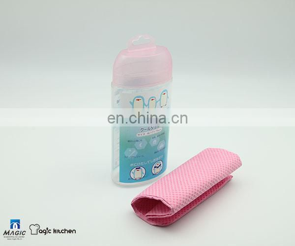 Portable PVA cooling ice towel for sport