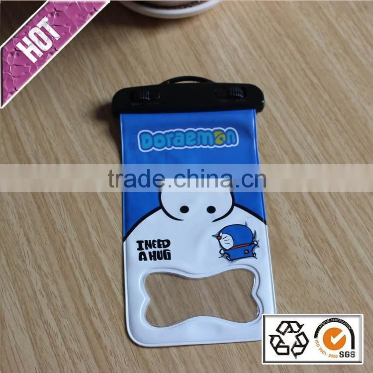 Hot Selling Pvc Waterproof case for smartphone ,Phone Waterproof Bag with cartoon printing