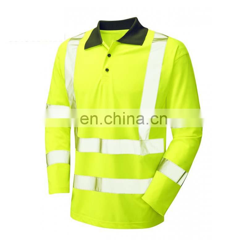 high visibility new design high quality in the long sleeve t-shirt production turkey