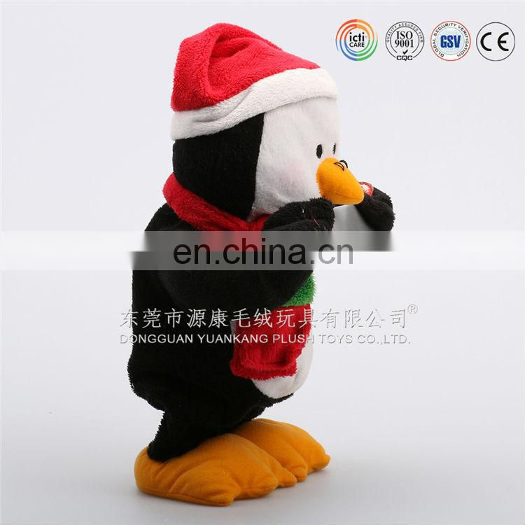 Wholesales Cheap animated electronic plush talking penguin toys