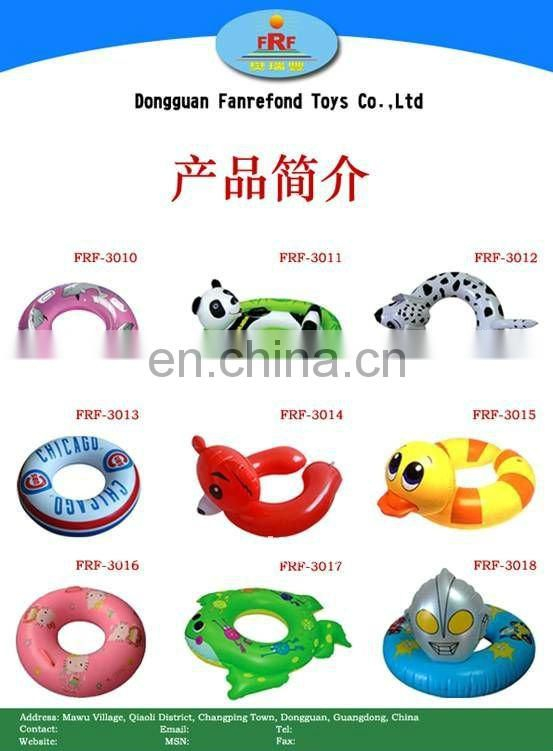 2012 led flashing inflatable swimming ring