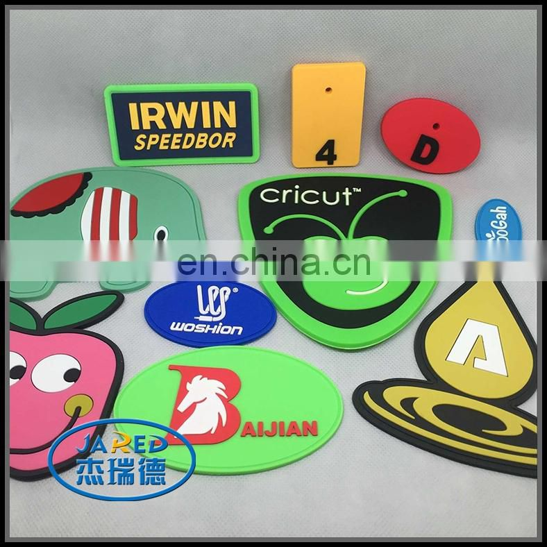 cheap customized 3d soft pvc rubber label