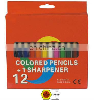 "3.5""Color Pencil Set With Sharpener"
