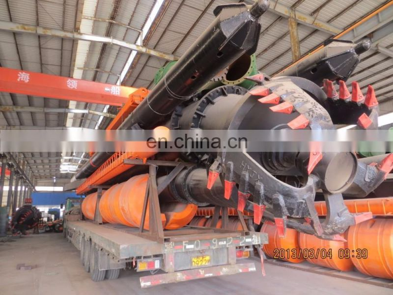 newly direct factory price 20inch 500mm Dia cutter suction dredger with good solid capacity
