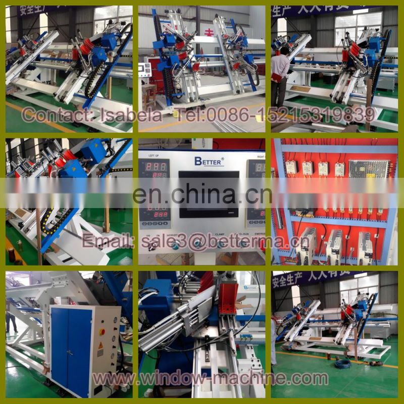 UPVC window and doors assembling machine,UPVC Doors Windows assembly production line / Window machines