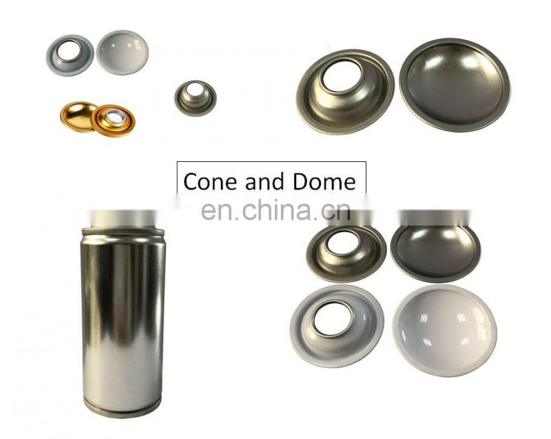 High-quality empty spray tin bottle with cmky spray paint for  freshener