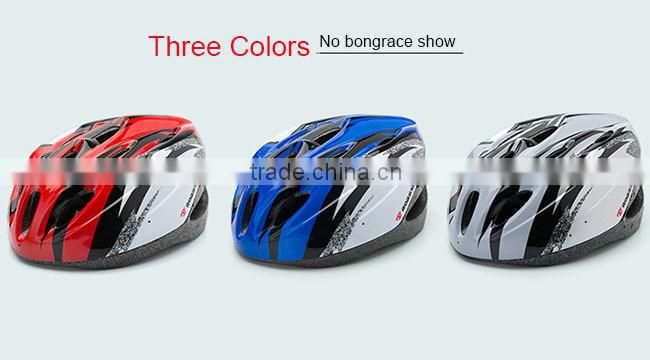 Made in China Bicycle Helmet Bike Cycling Adult Road Carbon EPS Mountain Safety Helmets Blue