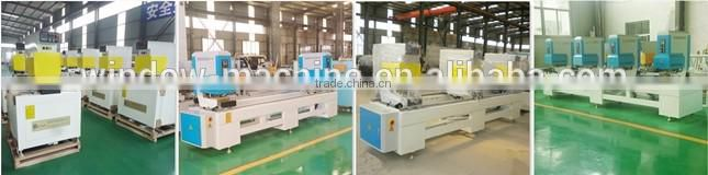 Double head Cutting Saw for PVC Profile Aluminum Door and Window Machinery