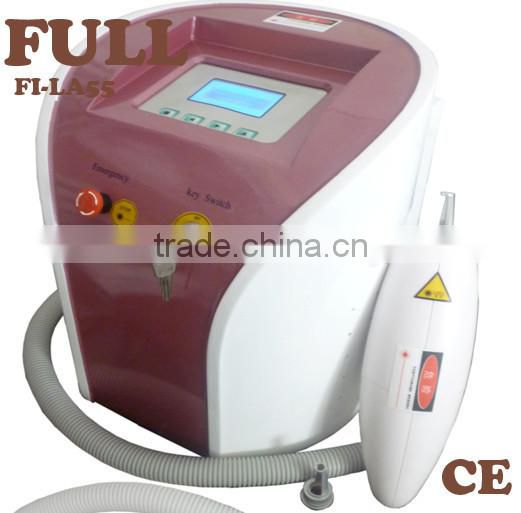 Portable machine price sale Q switch ND YAG laser for spot removal and tattoo removal