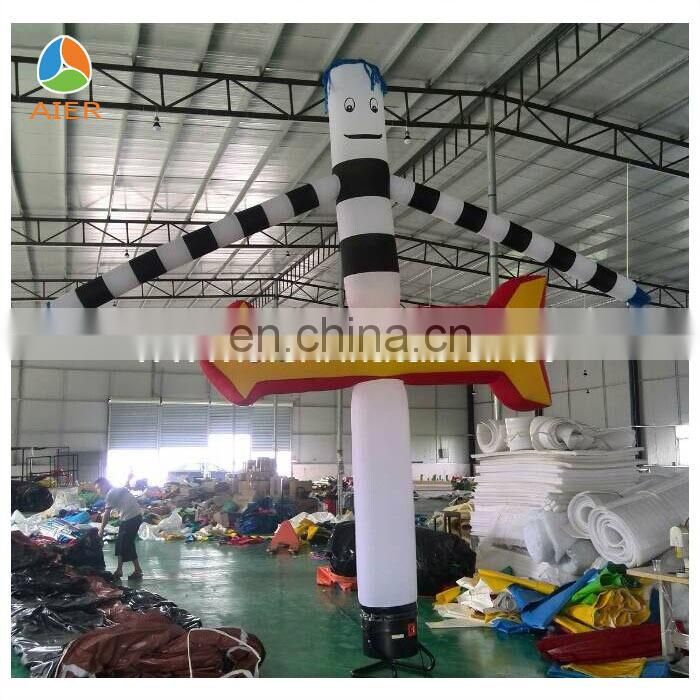 Beautiful inflatable air dancer, air dancer for commercial, air dancer with blower for sale