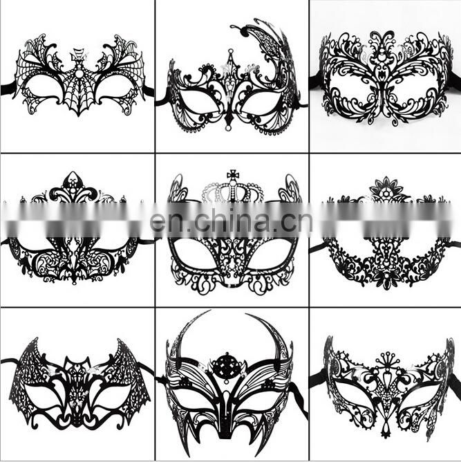 Christmas Party grade metal masks