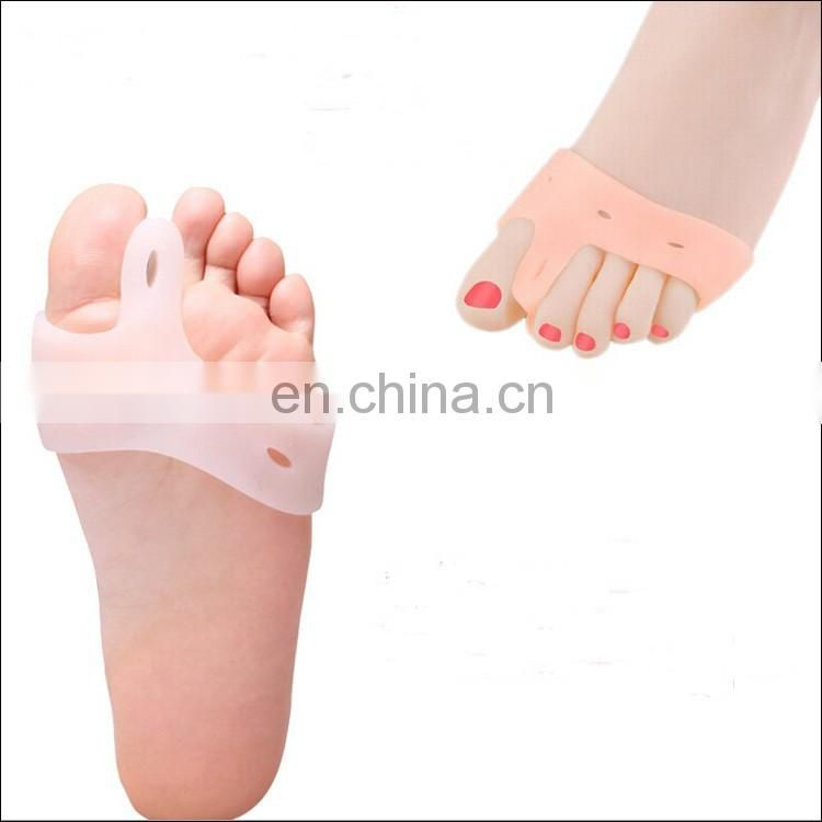 Toe Correction Soft Silicon GEL Toe Straightener Feet Protector To Bunion