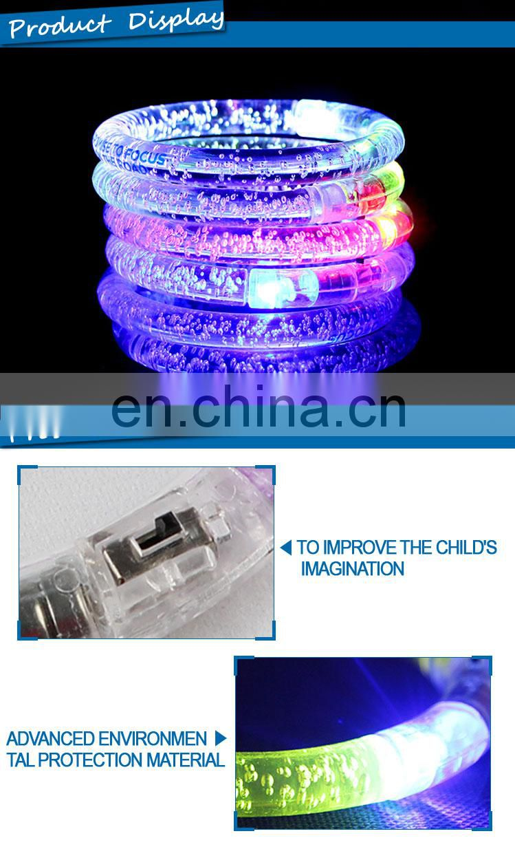 Wholesale Cheap Charm LED Flashing Bubble Bracelet
