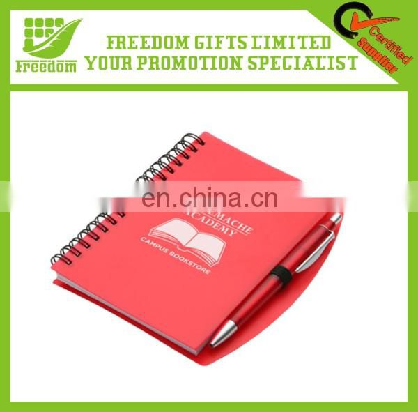 Promotion Customized Office School Notebook With Pen