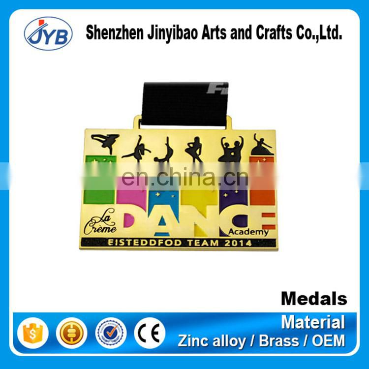 factory supply high quality metal award karate medals customized