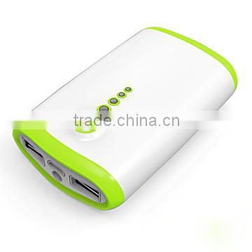 6600mAh external battery portable power charger station power bank for huawei