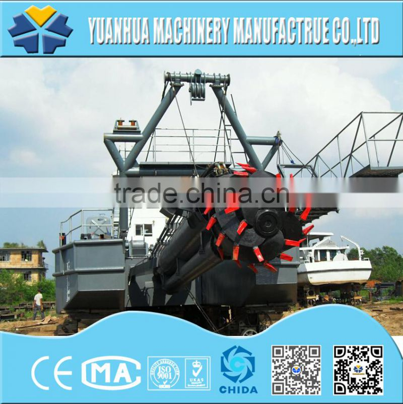 CSD1000 small cutter suction dredger dredging vessel