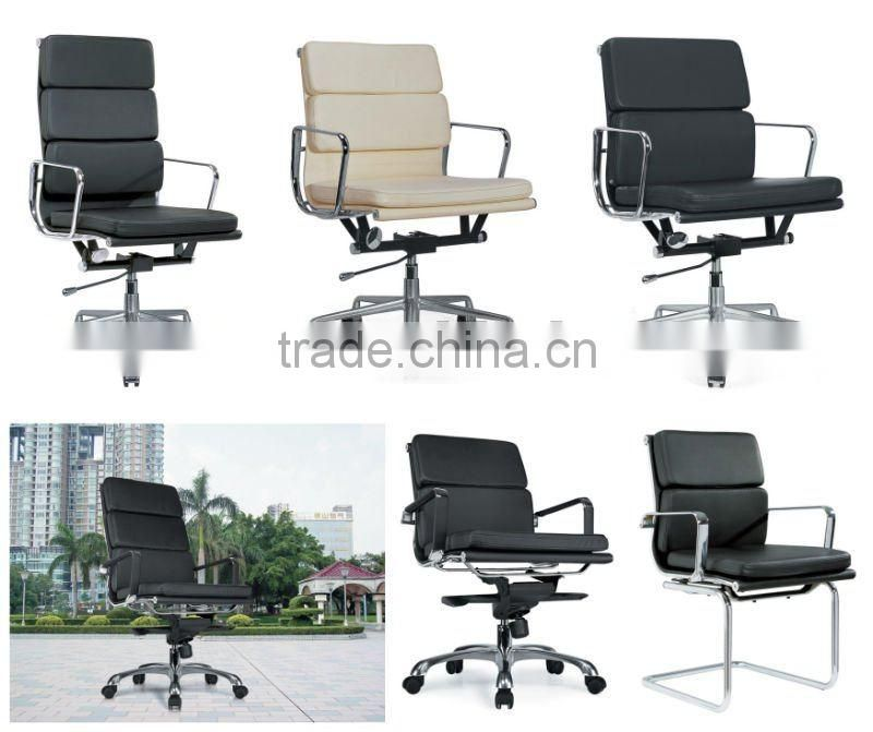 Black leather hotel chair wholesale