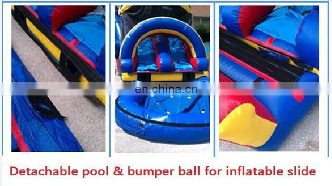 Outdoor inflatable obstacle course equipment for fun ID-OB007
