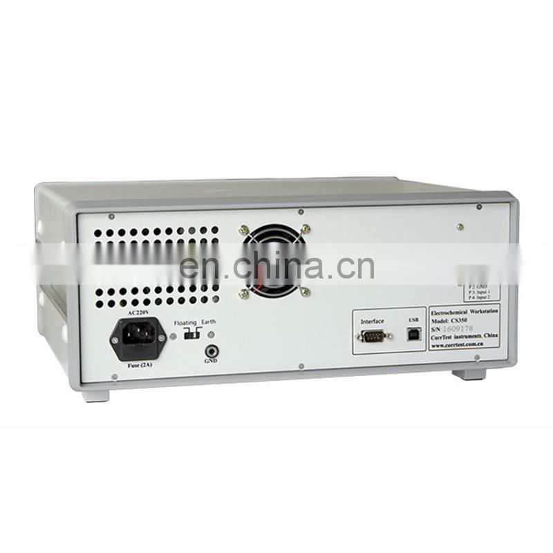 CS350-CS16X combination 16 channel potentiostat/galvanostat with CV/CM/Stable polarization for electrochemical test