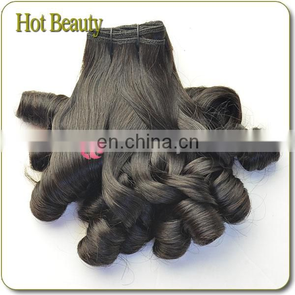 New Arrival 7A remy virgin double drawn new spiral curl hair extension