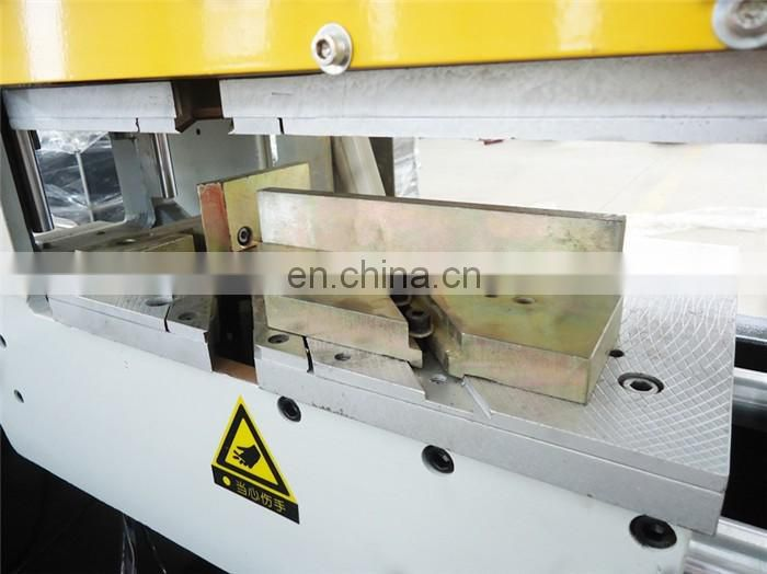 UPVC window door profile double head corner welding machine price