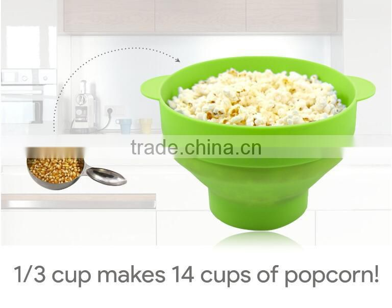 silicone popcorn maker instructions