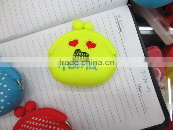 customized Funny imprinted silicone pouch