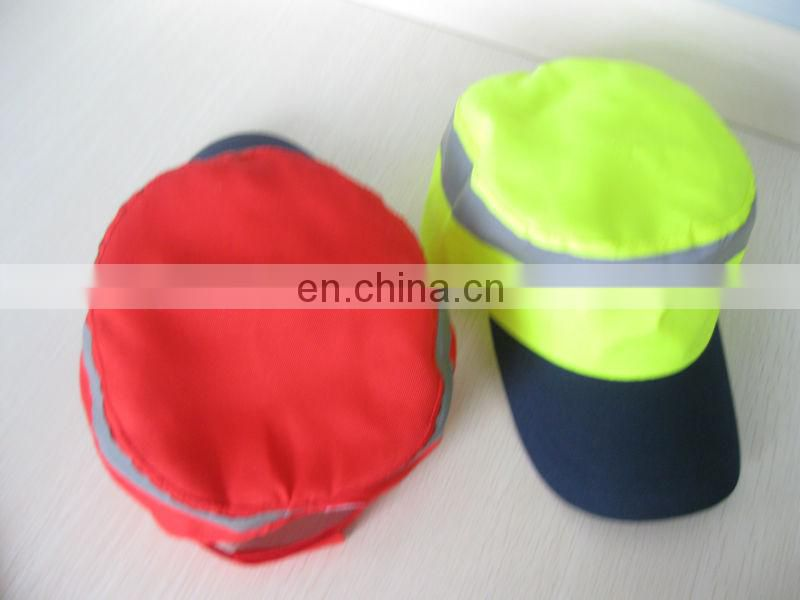 Safety Cap with Reflective Material in Different Colors