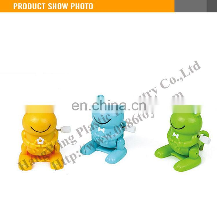 New Item plastic wind up crazy frog toy
