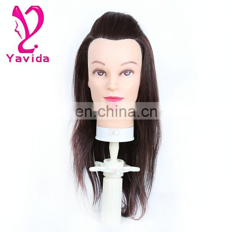 professional 18-24inch hair mannequin head malaysian hair vendors Hairdresser Styling