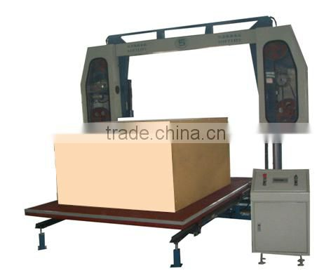 Sponge horizontal cutting machine with vacuum