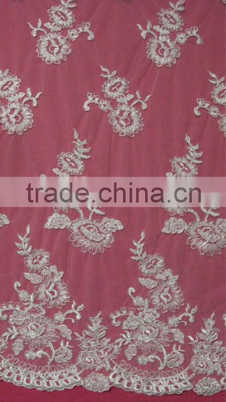 Manufacture Of Wedding Lace Net Lace Embroidery Lace