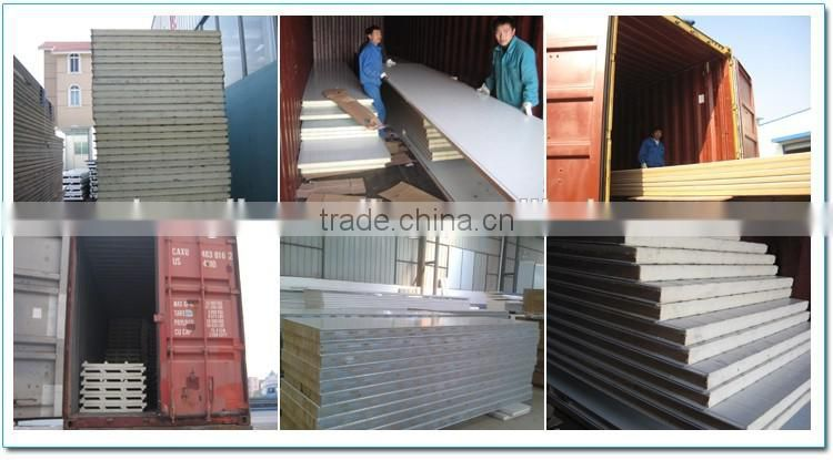 Factory direct supply building materials sandwich panel for cold rooms