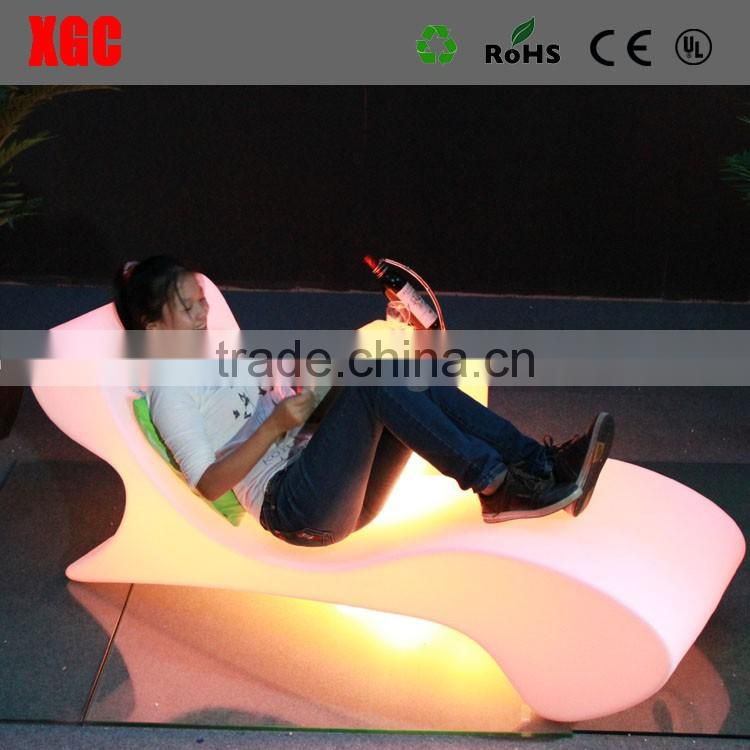 GF116 white plastic stacking chairs pool lounge chairs