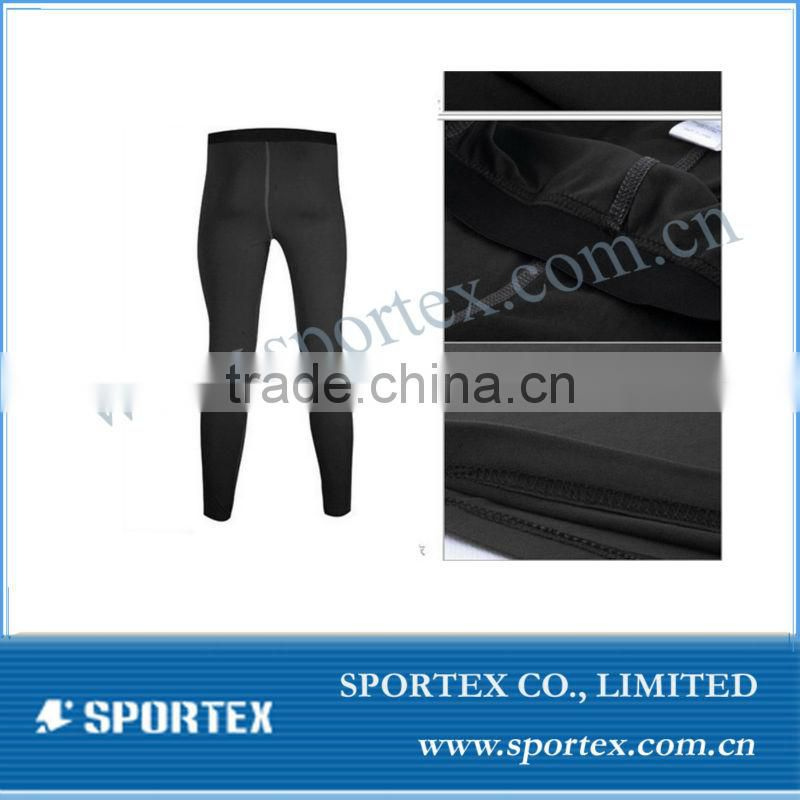 OEM service Mens thermal pants, base layer from china supplier, mens ski underwear winter