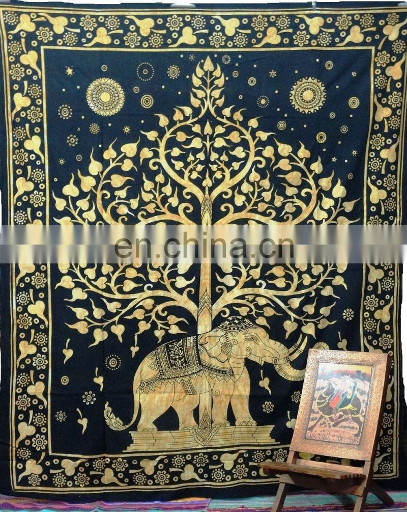 Latest Designer Round Beach Tapestry Indian Yoga Mat Beach Throw