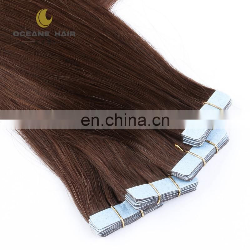 100% european hair tape color hair extension