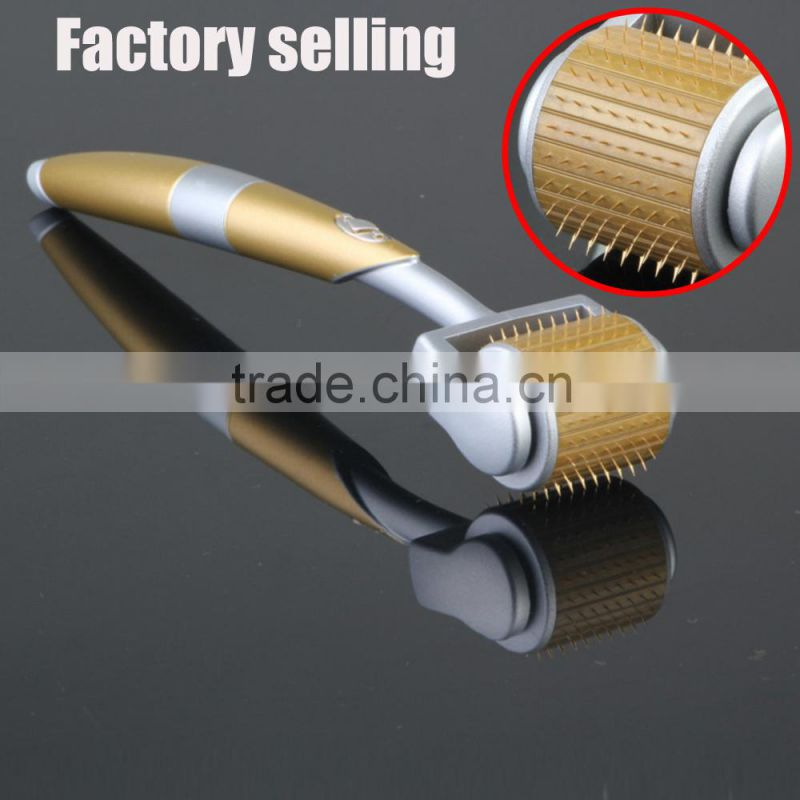 Factory selling! high quality titanium 540 derma roller micro needle patch for skin rejuvenation/find derma pen importer