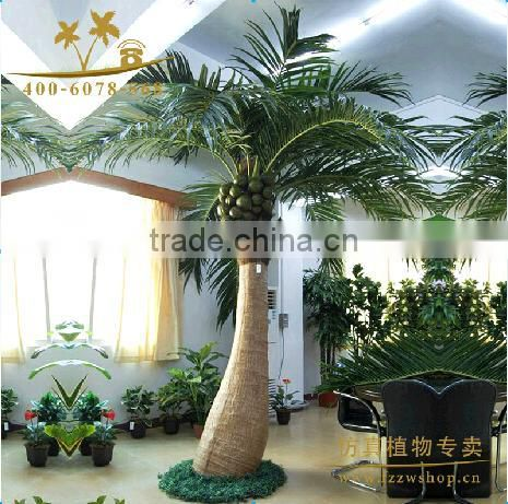 LXY080514 noble home decoration plant plastic artificial coconut palm tree for sale