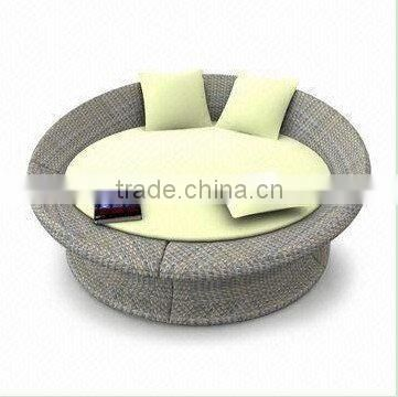 Outdoor Wicker Furniture, Used for Hotel and Banquet, Various Cushion Colors are Available